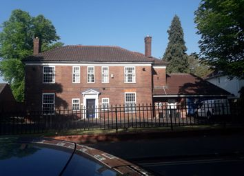 Thumbnail 3 bed detached house to rent in Vicarage Road, Edgbaston