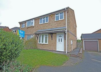 Thumbnail 3 bedroom semi-detached house to rent in Millfield Croft, Midway, Swadlincote