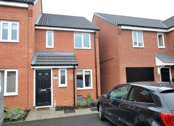 Thumbnail 2 bed town house for sale in Metcalfe Close, Stretton, Burton-On-Trent
