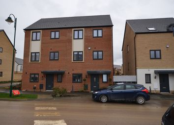 Thumbnail 4 bed end terrace house to rent in Goldcrest Way, Hampton, Peterborough