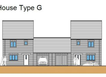 Thumbnail 3 bed link-detached house for sale in Hythe Road, Methwold, Thetford