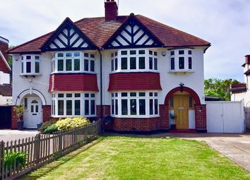 Thumbnail 4 bed semi-detached house to rent in London Road, Stoneleigh, Surrey