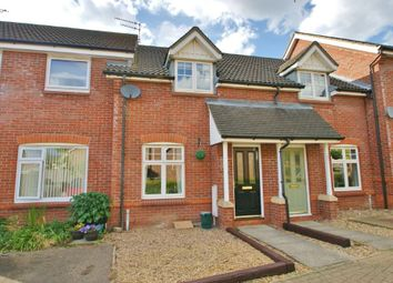 Thumbnail 2 bed terraced house for sale in Webb Drive, Rackheath, Norwich