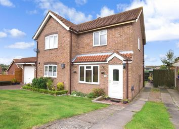 Thumbnail 2 bed semi-detached house for sale in Woolwich Close, Chatham, Kent