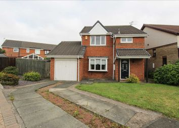 Thumbnail 3 bed detached house for sale in Pentland Close, Northburn Chase, Cramlington