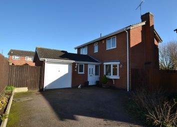Thumbnail 3 bed detached house for sale in Dickens Close, Sileby, Loughborough