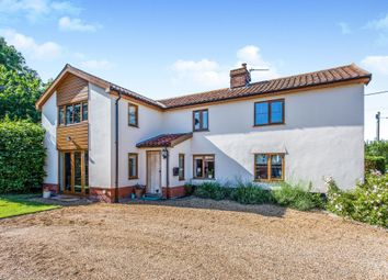 Thumbnail 4 bed detached house for sale in Puddledock, Old Buckenham, Attleborough