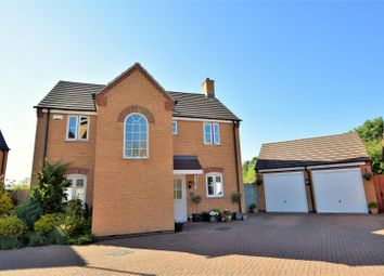 Thumbnail 4 bedroom detached house for sale in Belvoir Close, Stamford