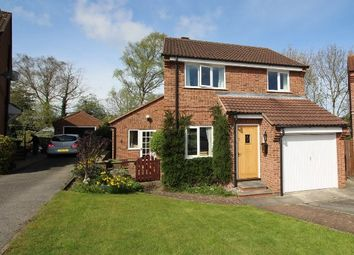 Thumbnail 3 bed detached house for sale in Sherbrooke Close, York