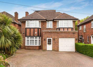 Thumbnail 5 bed detached house for sale in Edgwarebury Lane, Edgware, Greater London.