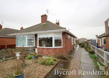 Thumbnail 2 bed semi-detached bungalow for sale in Chestnut Avenue, Bradwell, Great Yarmouth