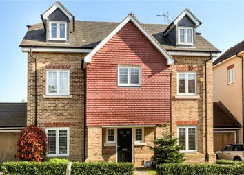 Thumbnail 5 bed detached house for sale in Halcyon Close, Oxshott, Leatherhead, Surrey
