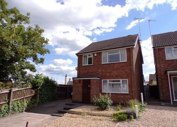 Thumbnail 3 bed detached house for sale in Blunts Lane, Wigston, Leicester, Leicestershire
