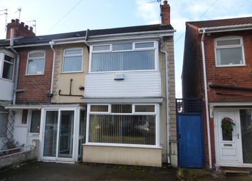 Thumbnail 3 bed end terrace house for sale in Etherington Drive, Hull