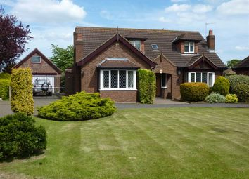 Thumbnail 3 bed detached house for sale in Willow Park, Barnoldby Le Beck, Grimsby
