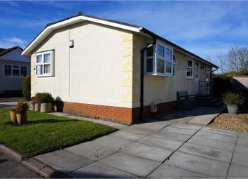 Thumbnail 2 bed mobile/park home for sale in Mossways Park, Wilmslow