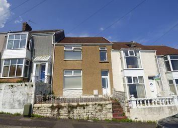 Thumbnail 4 bed terraced house for sale in Milton Terrace, Mount Pleasant, Swansea