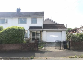 Thumbnail 3 bed semi-detached house to rent in Tregwilym Close, Rogerstone, Newport