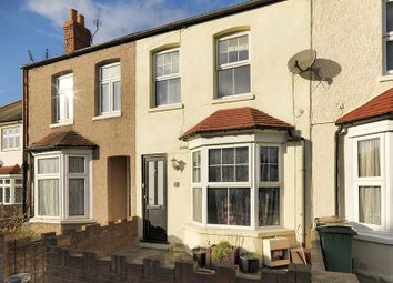 Thumbnail 3 bed terraced house for sale in Washington Road, Worcester Park