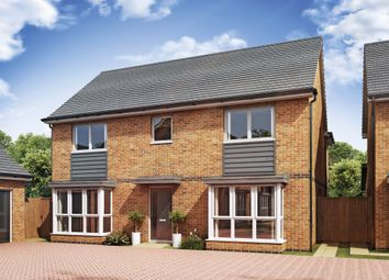 Thumbnail 4 bed detached house for sale in Cadet Drive, Shirley, Solihull