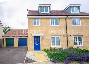 Thumbnail 3 bed town house for sale in Foundation Way, Colchester