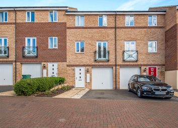 Thumbnail 3 bedroom town house for sale in Teasel Way, Hampton Centre, Peterborough