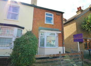 Thumbnail 3 bedroom semi-detached house for sale in Hythe Park Road, Egham, Surrey
