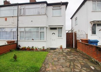 Thumbnail 3 bed terraced house to rent in Waltham Drive, Edgware