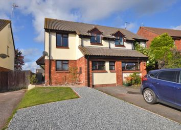 Thumbnail 3 bed semi-detached house to rent in Lilian Close, Bow, Crediton, Devon