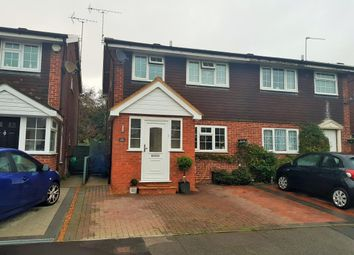 Thumbnail 3 bed semi-detached house for sale in Furrow Way, Maidenhead