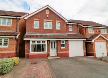 Thumbnail 4 bed detached house for sale in Hyacinth Close, Walsall