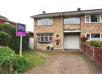 Thumbnail 3 bed end terrace house for sale in Linden Road, Benfleet
