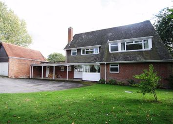 Thumbnail 4 bed detached house to rent in Enborne, Newbury