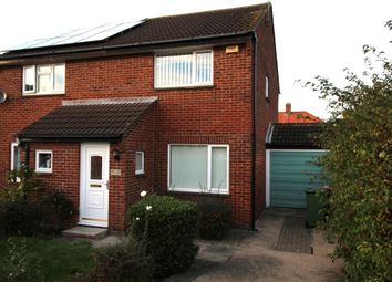 Thumbnail 2 bed semi-detached house to rent in Banbury Way, Blyth