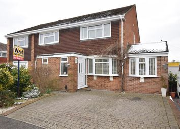 Thumbnail 2 bed semi-detached house for sale in Charles Close, Snodland, Kent