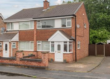 Thumbnail 3 bed semi-detached house for sale in Roydale Close, Loughborough