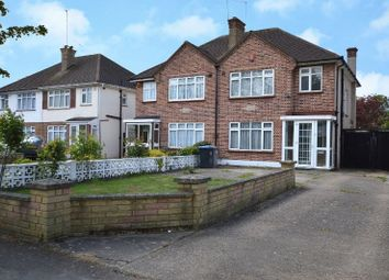 Thumbnail 3 bed semi-detached house for sale in Brookfield Crescent, Kenton, Harrow