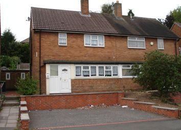Thumbnail 3 bedroom semi-detached house to rent in Roberts Road, Wednesbury, West Midlands