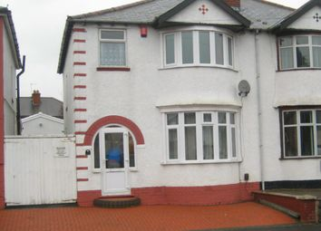 Thumbnail 3 bedroom semi-detached house to rent in Brian Road, Smethwick