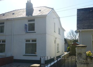 Thumbnail 2 bed semi-detached house to rent in Tycroes Road, Tycroes, Ammanford, Carmarthenshire.