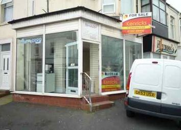 Thumbnail Retail premises for sale in Milbourne Street, Blackpool