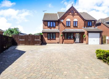 Thumbnail 5 bed detached house for sale in Fallow Close, Broughton Astley, Leicester, Leicestershire