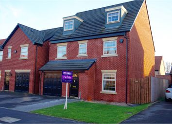 Thumbnail 5 bed detached house for sale in Taunton Way, Retford