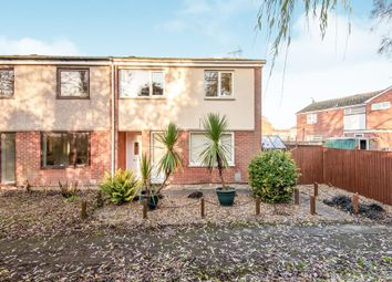 Thumbnail 3 bed end terrace house for sale in Gill Green Walk, Clarborough, Retford