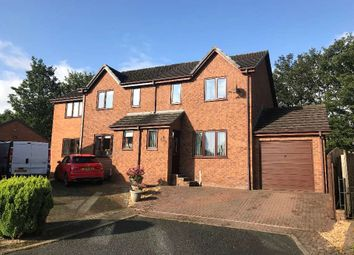 Thumbnail 3 bed semi-detached house for sale in Castletown Drive, Penrith