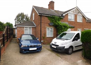Thumbnail 4 bed semi-detached house for sale in Edgar Avenue, Stowmarket
