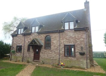Thumbnail 4 bed detached house for sale in Little London, Benwick, March