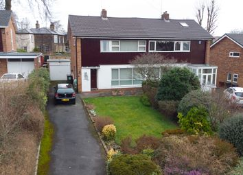 Thumbnail 3 bed semi-detached house for sale in North Grove Close, Leeds