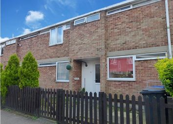 Thumbnail 3 bed terraced house to rent in Clare Close, Mildenhall, Bury St. Edmunds