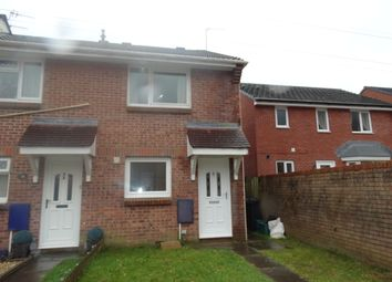 Thumbnail 2 bed terraced house to rent in Carreg Yr Afon, Godregraig Swansea